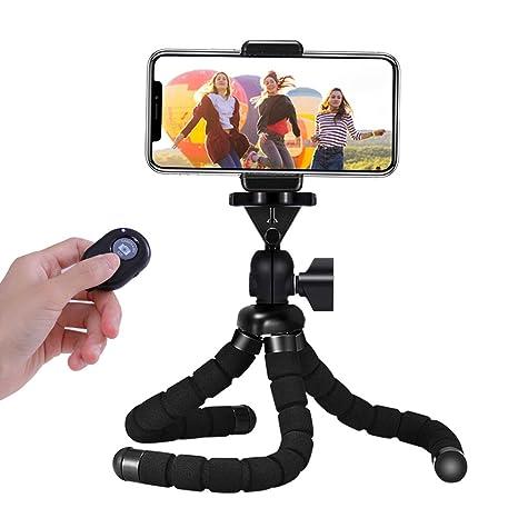 Handy Stativ, Mini Flexible Octopus Style Smartphone Reise Stativ, Handy Halter Halterung für Kamera, iPhone, Sumsung und and