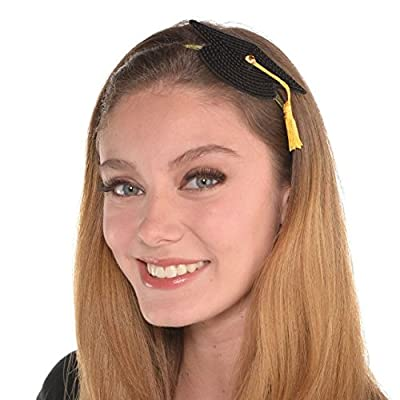 amscan Graduation Fashion Headband | Party Favor: Toys & Games