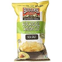 Boulder Canyon Cut Potato Chips, Avocado Oil and Sea Salt - 5.25 Ounces