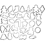 Wilton Holiday Cookie Cutter Set - 30 Cookie Cutters