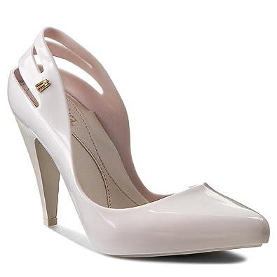 87185be238b9 Melissa Classic Heel AD Beige Pumps Shoes (7)