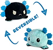 The Original Reversible Axolotl Plushie | TeeTurtle's Patented Design Show Your Mood Without Saying a Word!