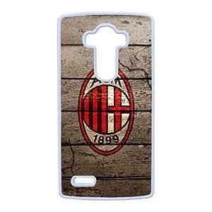 LG G4 Custom Cell Phone Case AC Milan FC Logo Case Cover 7WFF37520