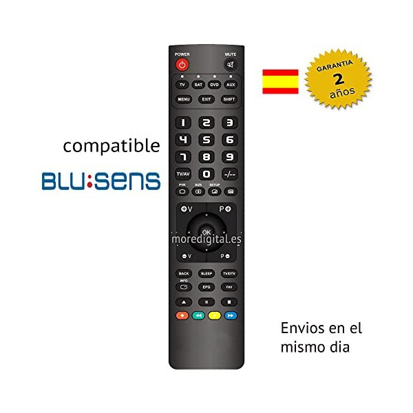 Mando a distancia Especifico para Television Tv blusens Modelo 2 - Reemplazo 2