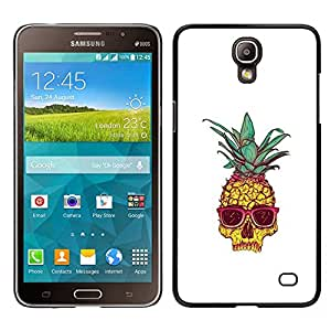 Stuss Case / Funda Carcasa protectora - Enfriar Weed Blanca 420 Shades; - Samsung Galaxy Mega 2