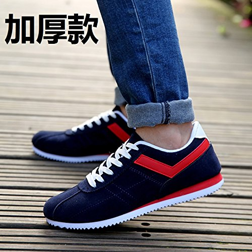 summer GUNAINDMX section casual nbsp; breathable sports shoes shoes men's nbsp;Spring thicker canvas board Blue 8rrgxE