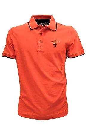 191po1308p82 OrangeAmazon Aeronautica Hommes Militare Couleur Polo vy0wPmN8nO