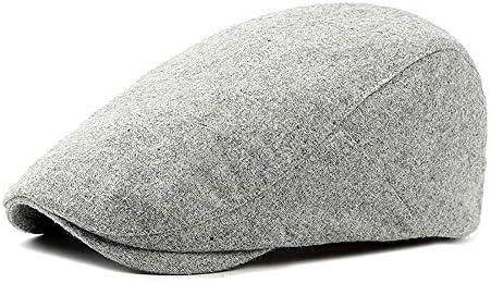 野球帽 キャスケット メンズ ハット ゴルフ ポリエステル 調整可能 ソフト 純色 鳥打帽 55-60cm LWQJP (Color : 1, Size : Free size)
