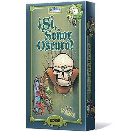 Edge Entertainment-¡Sí, Señor Oscuro Caja Verde (EDGRM0V): Amazon.es: Juguetes y juegos