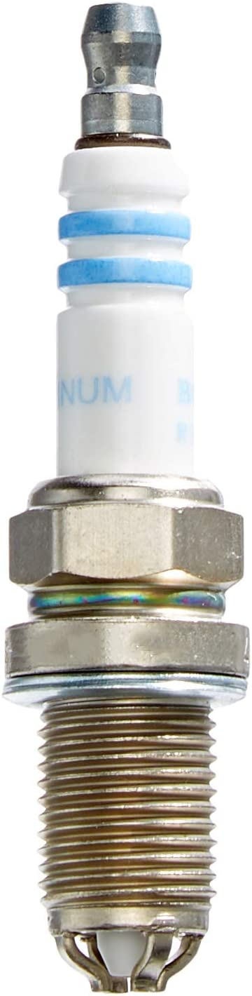 Bosch FGR7DQP+ Platinum +4 Spark Plug for Select Bentley, BMW, Land Rover, Mini, Morgan, and Rolls-Royce Vehicles (Pack of 1)