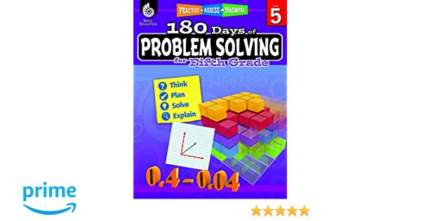 180 Days of Problem Solving for Fifth Grade (180 Days of Practice ...
