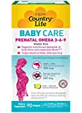 Country Life Prenatal Omega Mom, 90-Count