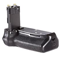 Neewer® Battery Grip Holder (Replacement for BG-E14) Work with LP-E6 Battery or 6 Pieces AA Batteries for Canon EOS 70D 80D DSLR Camera