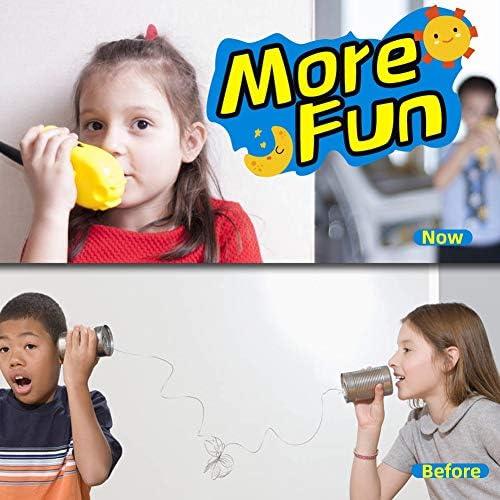 N / A Walkie Talkie Kids Radio Handmini HK188 Walkie-Talkie for Kinder Kommunikation Zweiweg Sprechanlage (3 PCS)