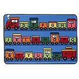 Alphabet Train 4' x 6' Rectangle