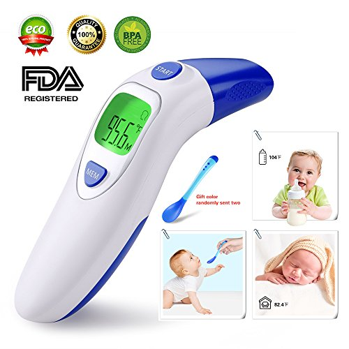 Dom Marzen Thermometer Ear Temperature Forehead Fever belly electronic Contact IR Baby Child Adult Old man FDA Without contact pingpang by Dom Marzen (Image #7)