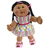 Cabbage Patch Kids Celebration African-American Girl Polka Dot Dress Doll
