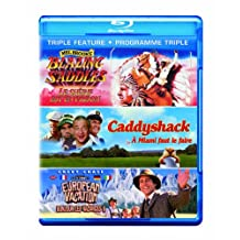 Blazing Saddles / Caddyshack / National Lampoon's European Vacation