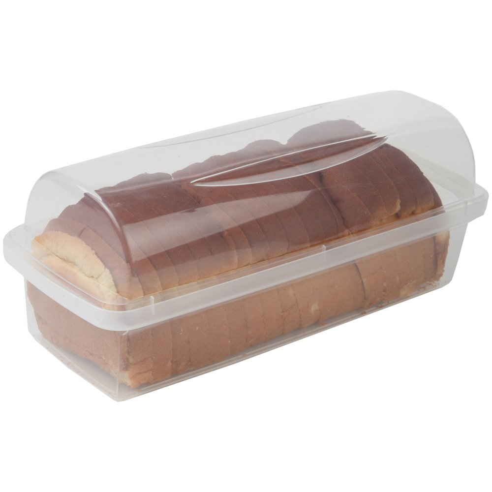 Charmant Bread Keeper Durable Bread Loaf Storage Box Container BPA Free Dishwasher  Safe