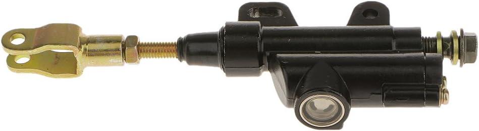 Motorrad Hinten Pumpe Hauptzylinder Fußbremse Bremszylinder Hauptbremszylinder Schwarz Auto