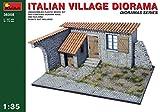 (US) MINIART MIN36008 ITALIAN VILLAGE DIORAMA KIT 1:35 MODELLINO MODEL