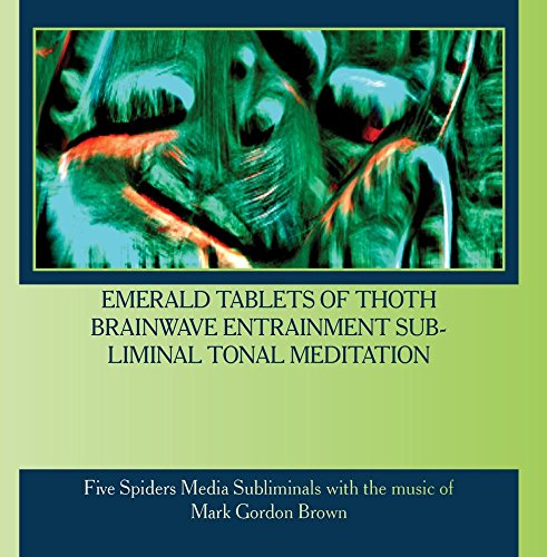Price comparison product image Emerald Tablets of Thoth Brainwave Entrainment Subliminal Tonal Meditation