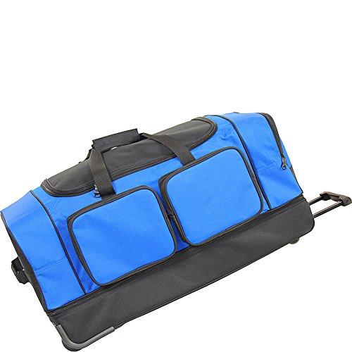 """Netpack Summer 30"""" Wheeled Duffel - Blue"""