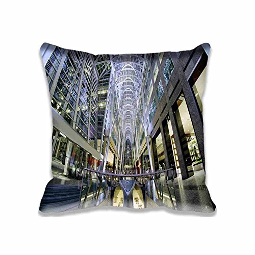 Creative Design Square Decorative Throw Pillow Case Cushion Cover Brookfield Place  Toronto  Ontario  Canada Throw Pillows 20X20 Two Sides Printed
