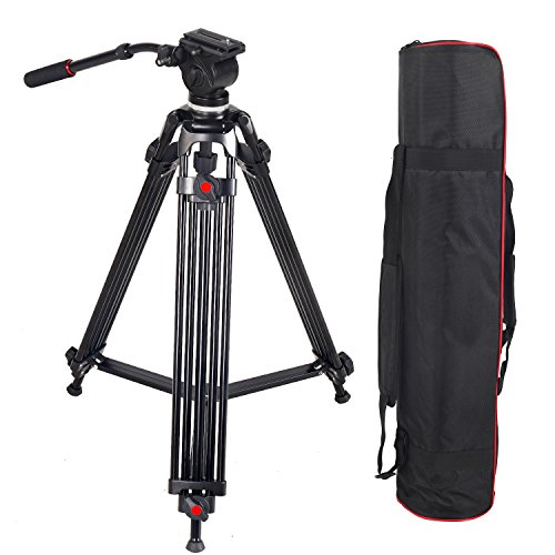 ASHANKS Professional Photography Camera Tripod, Hydraulic SL
