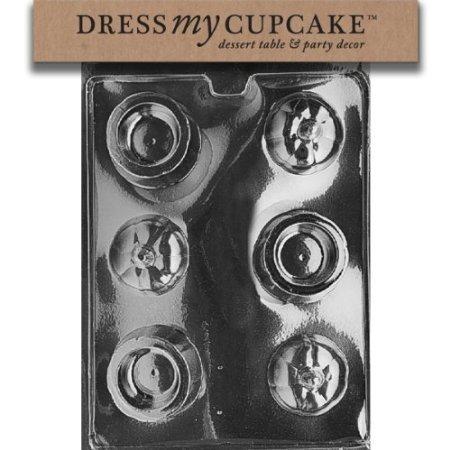 (Dress My Cupcake DMCH048 Chocolate Candy Mold, Pumpkin Pour,)