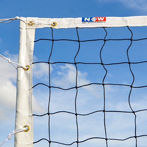 Competition Volleyball Net | 32' Olympic Spec Volleyball Nets For Tournaments