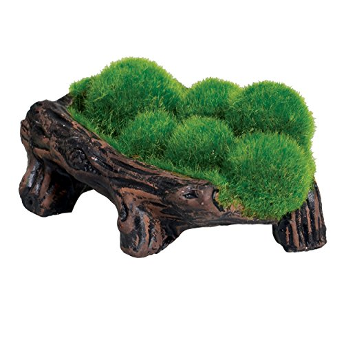 Underwater Treasures 53638 Mossy Log Cave with Airstone