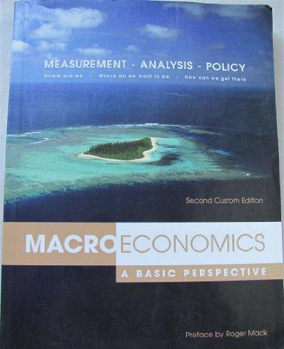 Macroeconomics : A Basic Perspective