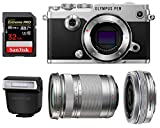 Olympus PEN-F Mirrorless Micro Four Thirds Digital Camera with Olympus M.Zuiko Digital ED 14-42mm f/3.5-5.6 EZ & 40-150mm f/4.0-5.6 R Lenses (Silver) Review