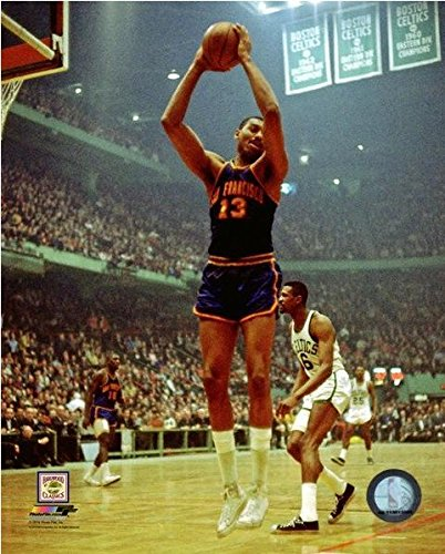 Wilt Chamberlain San Francisco Warriors NBA Action Photo (Size: 8