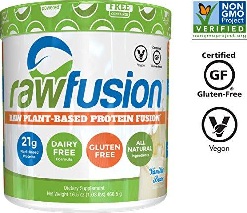 Artichoke Concentrate - SAN Nutrition RawFusion Plant Protein Powder, Vanilla Bean, 1 Pound