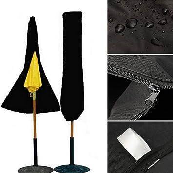 Chakil - Funda Impermeable para Paraguas al Aire Libre con Cremallera de Almacenamiento