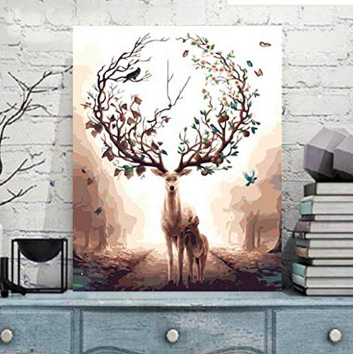 1PCS (No Frame) Canvas Wall Art Beautiful Pictures Paint on Canvas Painting for Home Kitchen Decorative