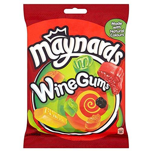 Maynards Wine Gums (190g) - Pack of 2