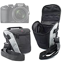 DURAGADGET Durable Ultra-Portable Camera Carry Case - Compatible with the NEW Nikon Coolpix A300 | Coolpix A900 | Coolpix B500 | Coolpix B700 Cameras