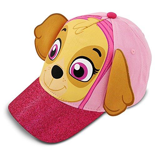 Nickelodeon toddler girls paw patrol skye character cotton baseball cap pink age 2 4 - Cap malo boutiques ...