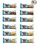 Cytosport Muscle Milk Blue Bar Variety Pack 12-1.76oz Bars Review