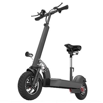 DDSCT Scooter eléctrico con Pantalla numérica, monopatín ...