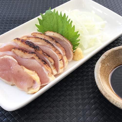 国産種鶏むねたたき一枚真空(生食用)約250g 冷凍真空