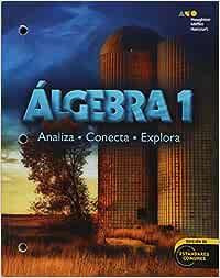 Holt McDougal Algebra 1, Spanish: Student Edition