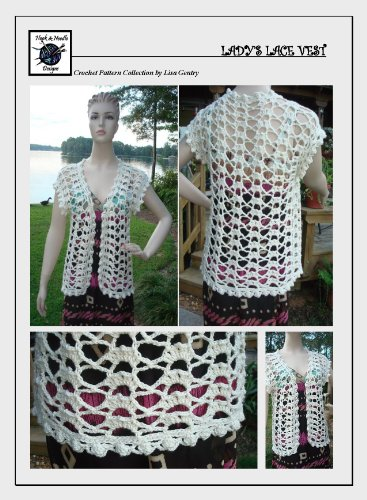 Ladys Lace Vest Crochet Pattern 119 Kindle Edition By Lisa