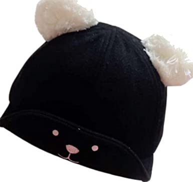 308452cb269 Image Unavailable. Image not available for. Color  ZEHAT Cute Bear Cotton  Baby Hat Girls Boys ...