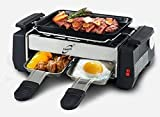 Tuzech All in One Mini 2-Plate Electric Barbeque