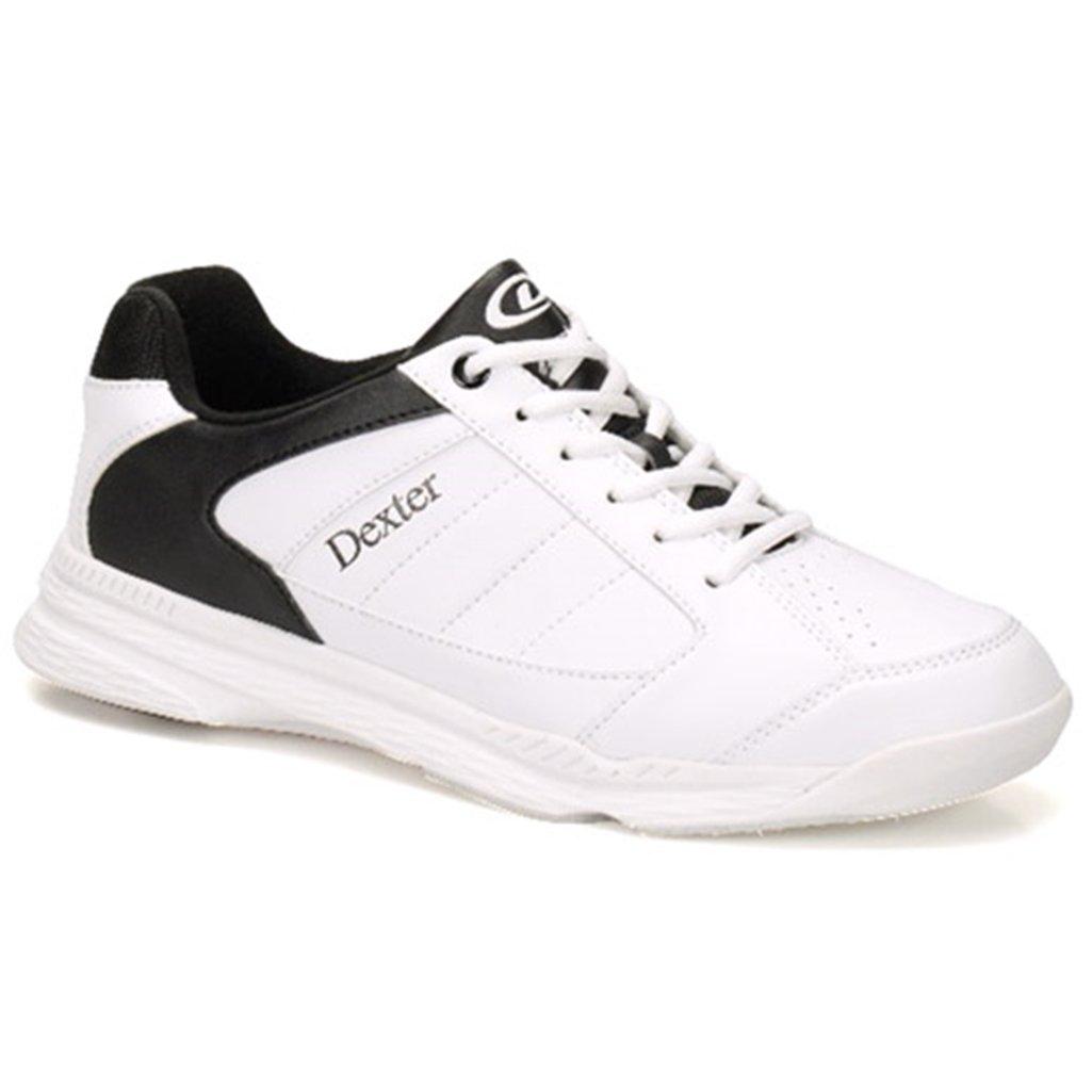 Dexter Bowling Mens - Ricky IV B06XNXBP7L Size 12|White/Black