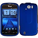 Dark Blue Hard Case Cover for HTC Mytouch Slide 4G